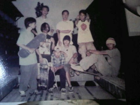SAMSAT BROTHER SKATEBOARD